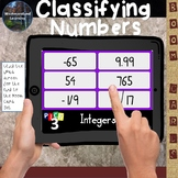 Classifying Numbers Rational & Irrational Numbers Digital Boom Cards Pick 3