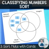 Classifying Numbers Sort TEKS 6.2a Math Workshop