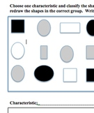 Classifying Objects Assessment