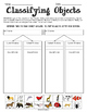 Classifying Objects FREEBIE - VA Science SOL 3.1c