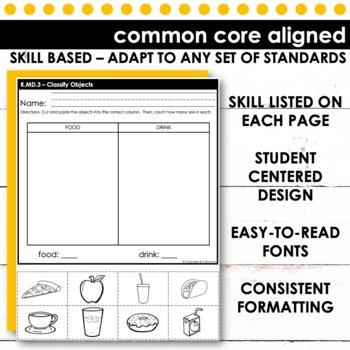 Classifying Objects | Kindergarten Math