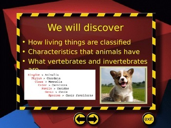 Classifying Organisms PowerPoint (5th Grade SF Science CH. 1)