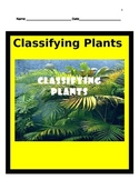 Classifying Plants - BUNDLE- 5th Science