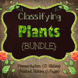 Classifying Plants {Bundle}