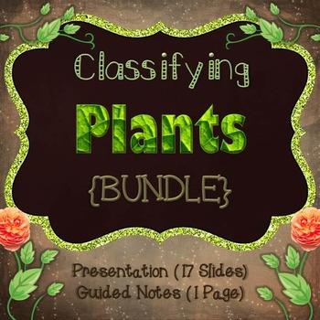 Classifying Plants {Bundle}