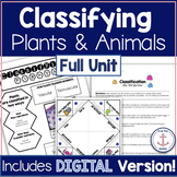 Classifying Plants and Animals Full Unit