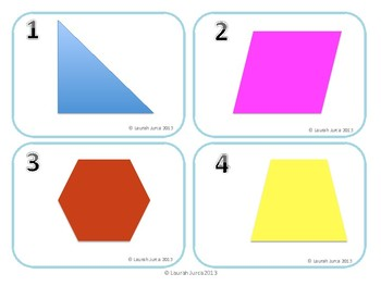 Classifying Polygons: A Common Core Semantic Feature Analysis Activity