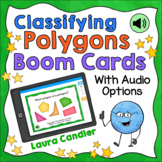 Classifying Polygons Boom Cards (With Audio Read Aloud Option)
