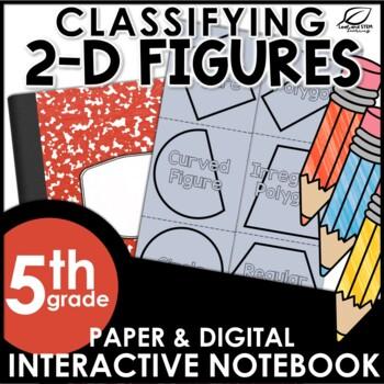 Classifying 2D Figures Interactive Notebook Set