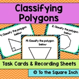 Classifying Polygons Task Cards