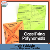 Classifying Polynomials Foldable