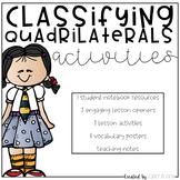 Classifying Quadrilateral Activities
