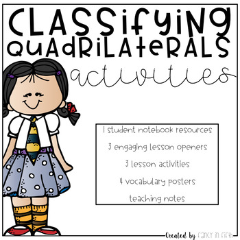 Classifying Quadrilateral Activities