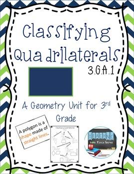 Classifying Quadrilaterals - 3.G.A.1