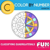 Classifying Quadrilaterals Color by Number