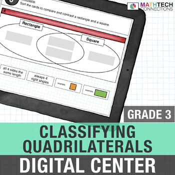 Classifying Quadrilaterals - 3rd Grade Google Classroom™ Math Activities | 3.G.1