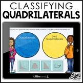 Classifying Quadrilaterals Digital Task Card | Boom Cards