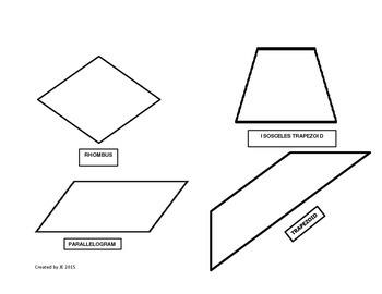 Classifying Quadrilaterals Exploration Activity