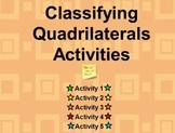 Classifying Quadrilaterals Flipchart Activities