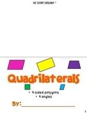 Classifying Quadrilaterals Foldable