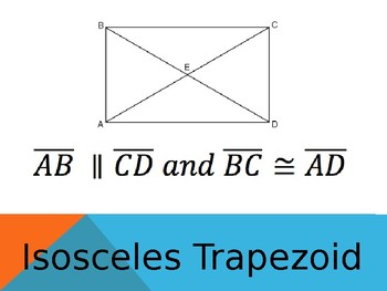 Classifying Quadrilaterals Group Activity