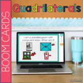 Classifying Quadrilaterals Math BOOM Cards
