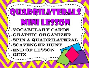 Quadrilaterals Mini-Lesson