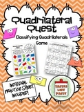 Classifying Quadrilaterals: Quadrilateral Quest Game and P