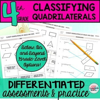Quadrilateral Worksheet Teaching Resources Teachers Pay Teachers