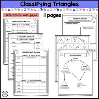 Classifying Quadrilaterals and Triangles