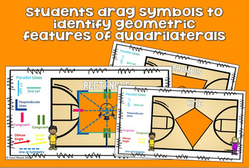 Classifying Quadrilaterals by lines, angles, congruence, and symmetry