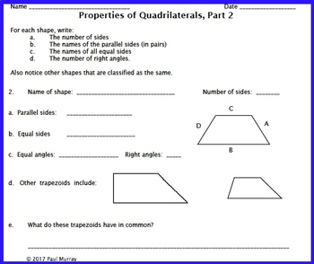 """Classifying Quadrilaterals, or """"How can a Square be a Rectangle?"""""""