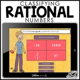 Classifying Rational Numbers | Boom Cards | Distance Learning