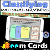 Classifying Rational Numbers Boom Cards | Digital Activity