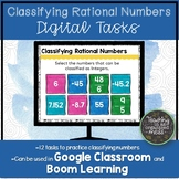 Classifying Rational Numbers Digital Tasks and Boom Deck |