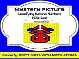 Classifying Rational Numbers - Mystery Picture - TEK 6.2A