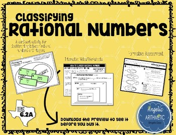 Classifying Rational Numbers - Part 1