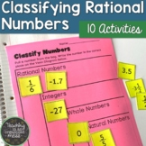 Classifying Rational Numbers Stations BUNDLE