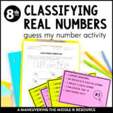 Classifying Real Numbers Cards
