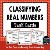 Classifying Real Numbers Task Cards