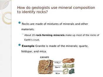 Classifying Rocks Notes