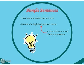 Classifying Sentences Prezi