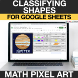Classifying Shapes 4th Grade Math Mystery Picture Digital