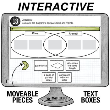 Classifying Shapes - 5th Grade Digital Interactive Math Center