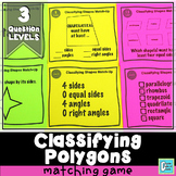 Polygons Matching Activity Game
