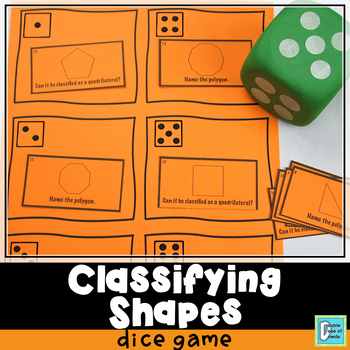 Polygons Roll and Play Dice Game