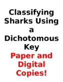 Classifying Sharks Using a Dichotomous Key Lab: Paper and DIGITAL