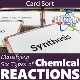 Classifying Chemical Reactions Card Sort | Types of Reacti