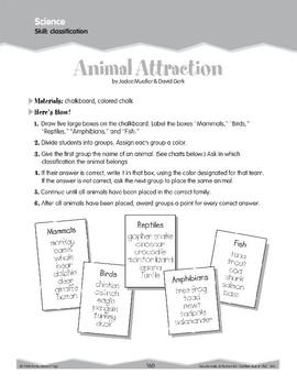 Classifying (Ten-Minute Activities)