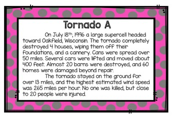Classify Tornadoes: An Authentic Performance Task